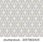 ikat geometric folklore... | Shutterstock .eps vector #2057802425