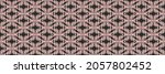 ikat geometric folklore... | Shutterstock .eps vector #2057802452
