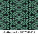 ikat geometric folklore... | Shutterstock .eps vector #2057802455
