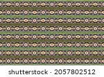ikat geometric folklore... | Shutterstock .eps vector #2057802512