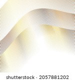 design elements. wave of many... | Shutterstock .eps vector #2057881202