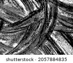 black and white grunge texture | Shutterstock .eps vector #2057884835