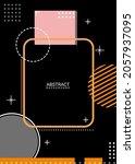 background template  vector ... | Shutterstock .eps vector #2057937095