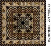 zigzag seamless pattern.... | Shutterstock .eps vector #2057955788
