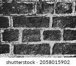 distress old brick wall texture.... | Shutterstock .eps vector #2058015902