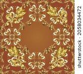 vector. abstract background.... | Shutterstock .eps vector #2058034472