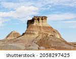 Rock Outcropping With Layers In ...
