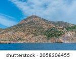 Castle Of San Julian On A Hill...