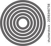 round circular herringbone...   Shutterstock .eps vector #2058348758