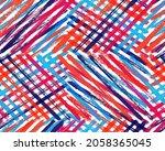 modern gouache backdrop vector...   Shutterstock .eps vector #2058365045