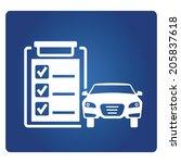auto service  car service | Shutterstock .eps vector #205837618