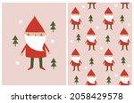 cute nursery vector... | Shutterstock .eps vector #2058429578