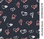 seamless pattern of cartoon... | Shutterstock .eps vector #2058446378