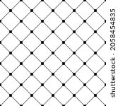 fine mesh with squares.... | Shutterstock .eps vector #2058454835