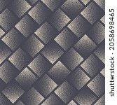 square stippled seamless... | Shutterstock .eps vector #2058698465