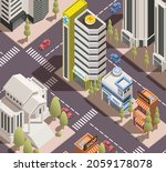 real estate design building... | Shutterstock .eps vector #2059178078