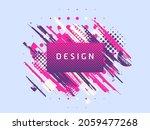 vector paint brush promotion...   Shutterstock .eps vector #2059477268
