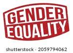 gender equality grunge rubber... | Shutterstock .eps vector #2059794062