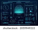 hud biometric access control...