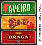 aveiro  braga  beja portuguese... | Shutterstock .eps vector #2059949282