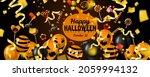 happy halloween banner with... | Shutterstock .eps vector #2059994132