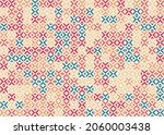 abstract geometric pattern... | Shutterstock .eps vector #2060003438