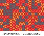 abstract geometric pattern... | Shutterstock .eps vector #2060003552