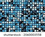 abstract geometric pattern... | Shutterstock .eps vector #2060003558