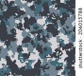 Digital Navy Seamless Pixel...
