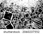 grunge is black and white.... | Shutterstock .eps vector #2060237552