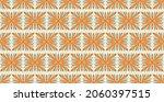 oriental vector damask pattern. ... | Shutterstock .eps vector #2060397515