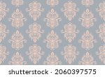 oriental vector damask pattern. ... | Shutterstock .eps vector #2060397575