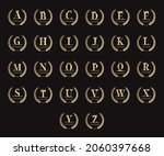 set of royal personalized... | Shutterstock .eps vector #2060397668