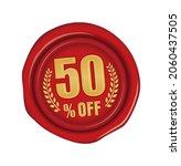 50  off icon illustration  for... | Shutterstock .eps vector #2060437505