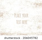 grunge background vector... | Shutterstock .eps vector #206045782