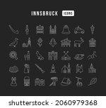 innsbruck. collection of... | Shutterstock .eps vector #2060979368