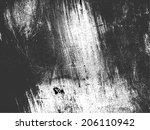 grunge texture. vector... | Shutterstock .eps vector #206110942