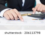 accounting or finance concept | Shutterstock . vector #206113798