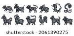 Traditional Chinese Zodiac...