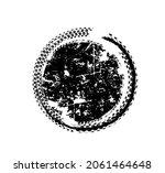 tire tracks print circular... | Shutterstock .eps vector #2061464648