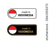 made in indonesia     vector...   Shutterstock .eps vector #2061503372