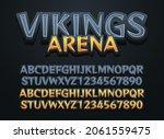 stone viking arena editable...