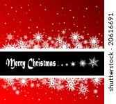 christmas background | Shutterstock .eps vector #20616691