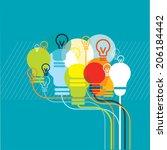 brainbulbs | Shutterstock .eps vector #206184442