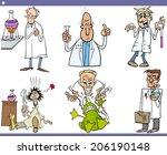 cartoon illustration of funny... | Shutterstock . vector #206190148