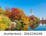 Fall Colors Along The Spokane...