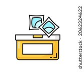 dishwasher tabs or laundry gel... | Shutterstock .eps vector #2062324622