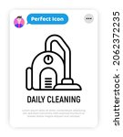 daily cleaning service thin... | Shutterstock .eps vector #2062372235
