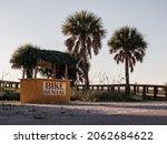 Rental Bike Stand On The Beach...