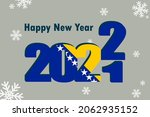 new year's card 2022. an... | Shutterstock .eps vector #2062935152